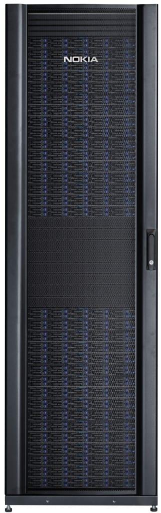 Nokia server rack