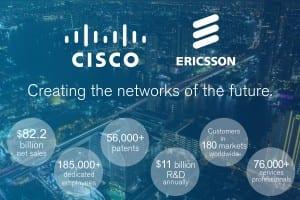 Cisco Ericsson infographic