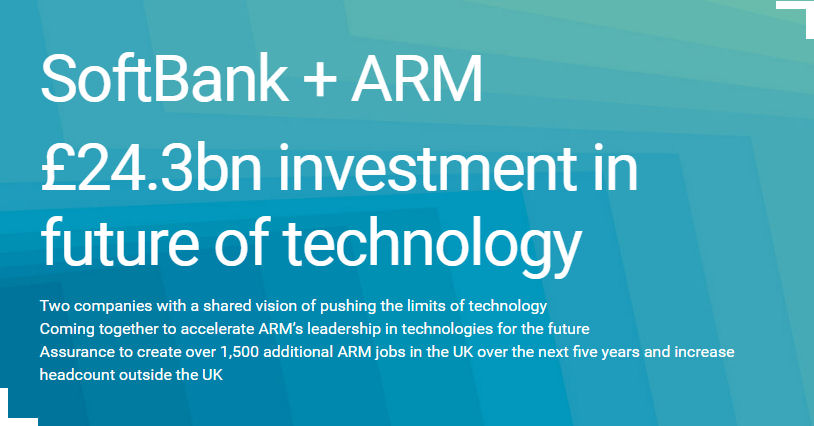 ARM Softbank statement