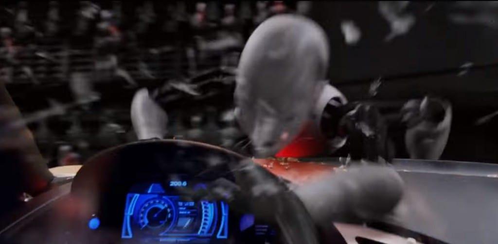 Evil driverless car Audi iRobot