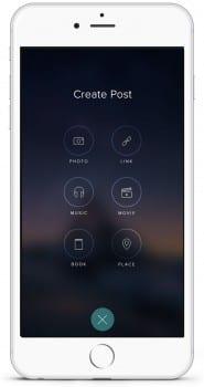 Vero create post