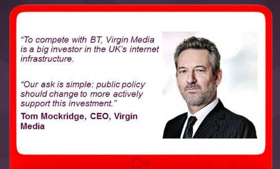Virgin Media Tweet