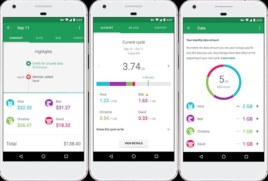 Google Fi billing
