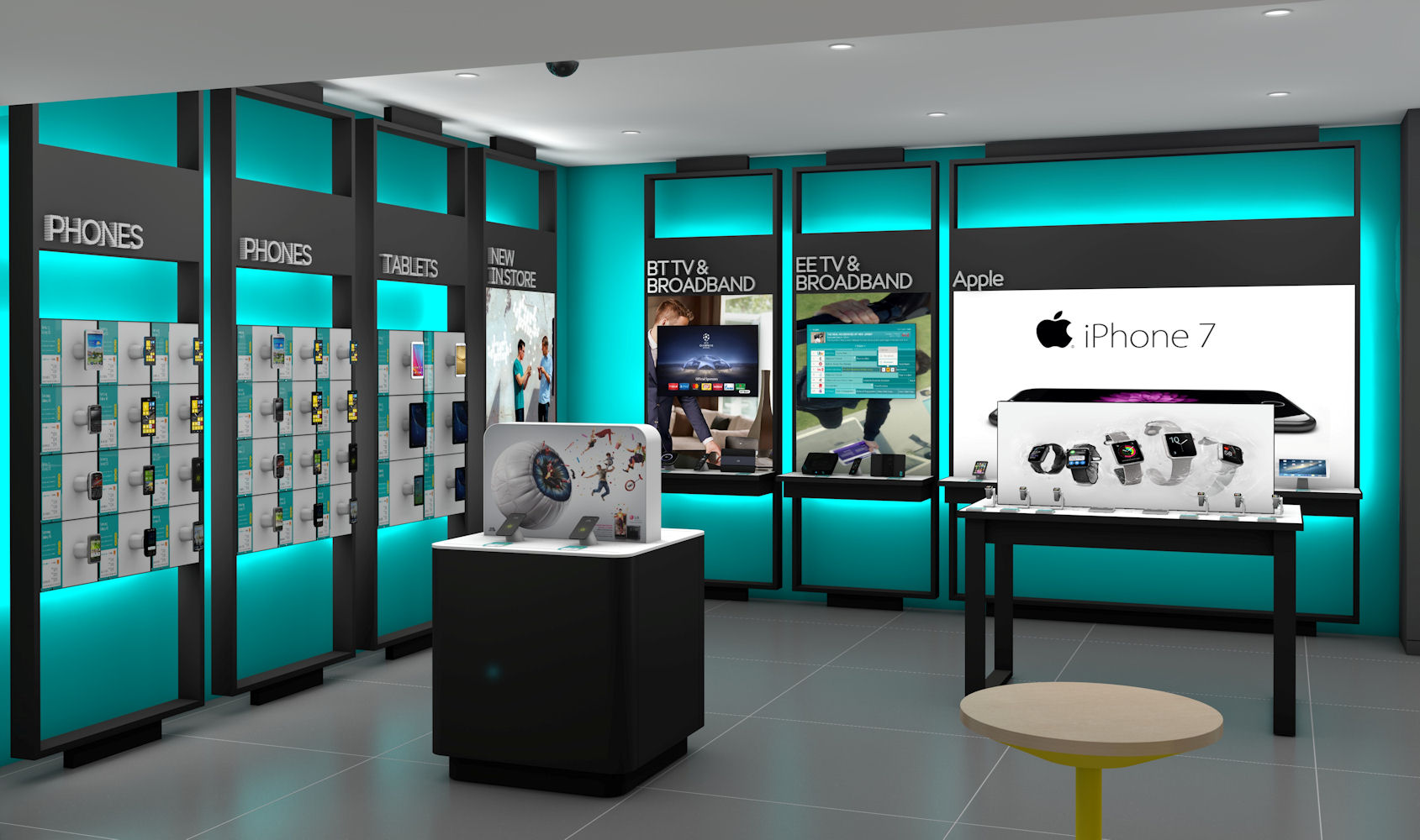New EE Showcase stores