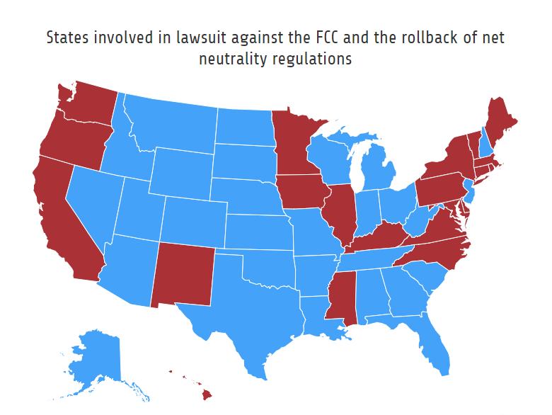 Lawsuits FCC