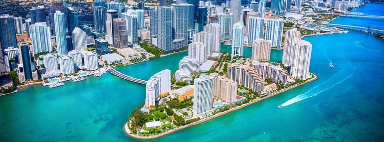 Miami Beach image illustrating the Q&A interview with Sarah Neil and David Glickman for the MVNOs North America 2018