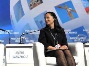 Huawei CFO updates her prison diary
