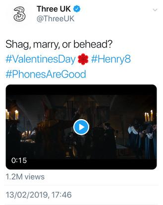 3 UK deleted tweet