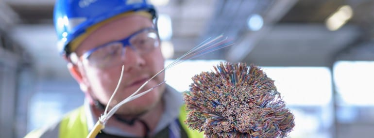 Everyone is getting into fibre, even Network Rail