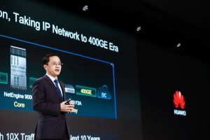Huawei Launches the Industry's First E2E 400GE Routers with Committed SLA— NetEngine 8000 Series Intelligent Routers